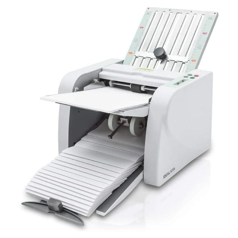 IDEAL Professionelle Büro-Falzmaschine 8306 (Vier Falzarten, 60 bis 115 g/m², 115 Blatt/Minute)