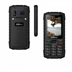 ☎²-DUAL SIM 3G/UMTS/HSDPA/TETHERING/TEMPERED FOLIE -Outdoor- Handy-Rugged-/Taschenlampe/von G-TELWARE® IP67 1400mAh in DEUTSCH