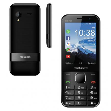 KAIOS Handy MK281 4G/ WHATSAPP/ WLAN by G-TELWARE®