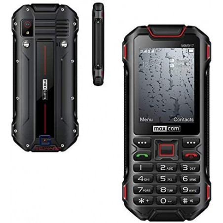 ☎²-DUAL SIM 3G/UMTS/HSDPA/TETHERING/TEMPERED FOLIE -Outdoor- Handy-Rugged-/Taschenlampe/von G-TELWARE® IP68 2500mAh in DEUTSCH