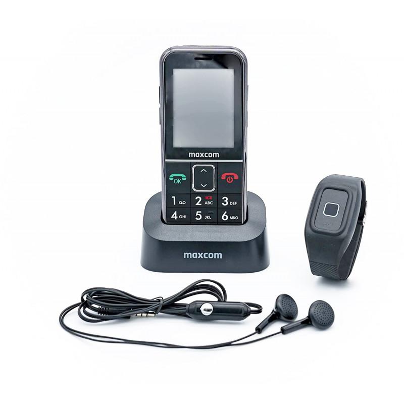 SENIORENHANDY GPS (Firmware 2021!)Notrufarmband Powered by G-TELWARE® Handy,  mit FUNKARMBAND, DEUTSCHES MENÜ